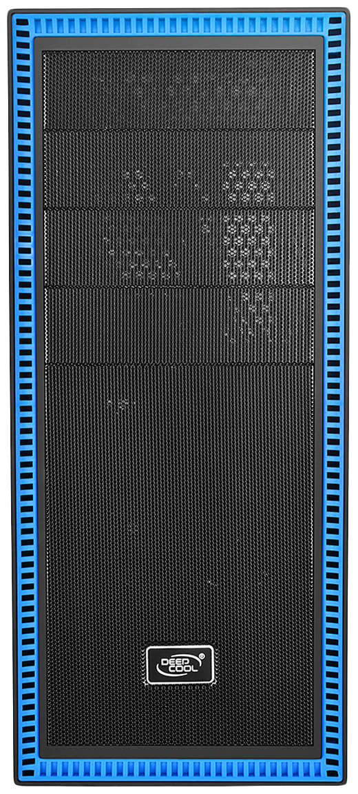 Компьютерный корпус DEEPCOOL Tesseract SW без БП (DP-CCATX-TSRBKBL) blue/black