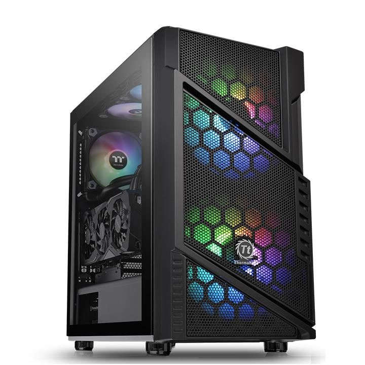 Корпус компьютерный Thermaltake Commander C31 TG ARGB без БП (CA-1N2-00M1WN-00b) black