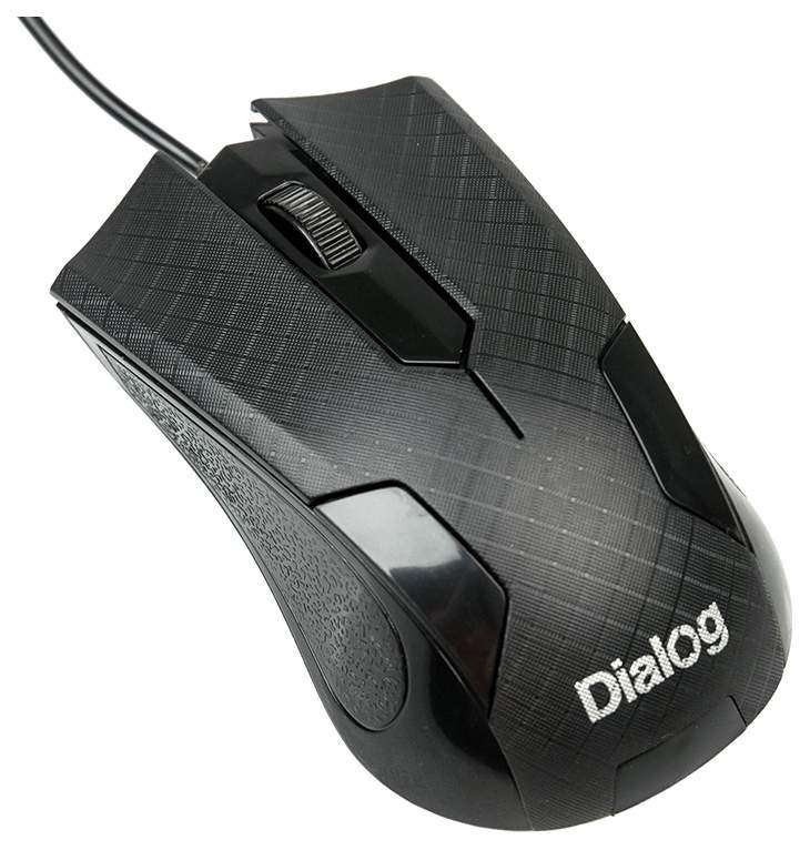 Проводная мышка Dialog Pointer MOP-08U Grey/Black