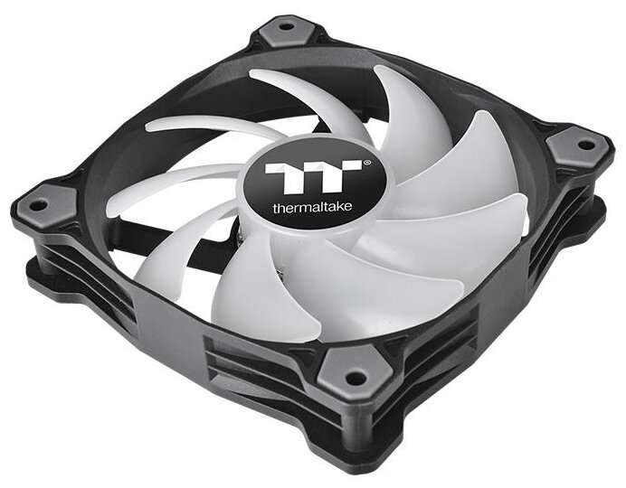 Комплект вентиляторов для корпуса Thermaltake Pure Plus 14 RGB Radiator Fan TT Premium Edition (3-Fan Pack)