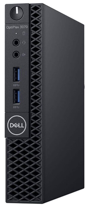Настольный компьютер DELL Optiplex 3070 (3070-6701) Micro-Tower/Intel Core i5-9500T/8 ГБ/1 ТБ HDD/Intel UHD Graphics 630/Windows 10 Pro