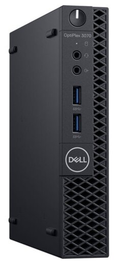 Настольный компьютер DELL Optiplex 3070 Micro (3070-1939) Micro-Tower/Intel Core i3-9100T/8 ГБ/256 ГБ SSD/Intel UHD Graphics 630/Linux