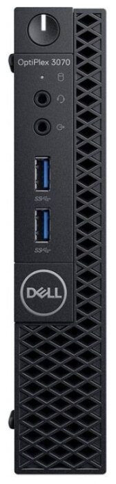 Настольный компьютер DELL OptiPlex 3070 Micro (3070-2684) Intel Core i3-9100T/4 ГБ/500 ГБ HDD/Intel UHD Graphics 630/Linux