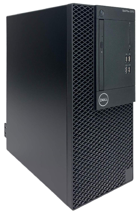 Настольный компьютер DELL Optiplex 3070 MT (3070-4678) Mini-Tower/Intel Core i5-9500/8 ГБ/1 ТБ HDD/Intel UHD Graphics 630/Windows 10 Pro
