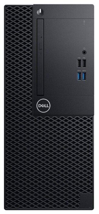 Настольный компьютер DELL Optiplex 3070 MT (3070-4685) Mini-Tower/Intel Core i5-9500/8 ГБ/256 ГБ SSD/Intel UHD Graphics 630/Windows 10 Pro