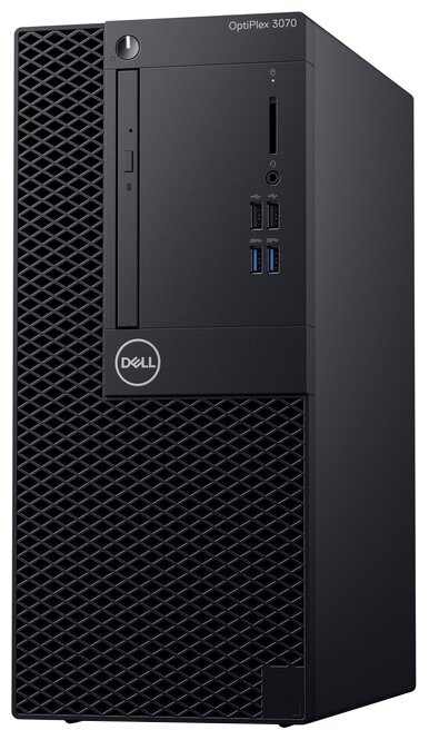 Настольный компьютер DELL OptiPlex 3070 MT (3070-7667) Mini-Tower/Intel Core i3-9100/4 ГБ/1 ТБ HDD/Intel UHD Graphics 630/Ubuntu
