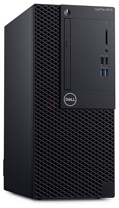 Настольный компьютер DELL Optiplex 3070 MT (3070-7674) Mini-Tower/Intel Core i3-9100/8 ГБ/1 ТБ HDD/Intel UHD Graphics 630/Ubuntu