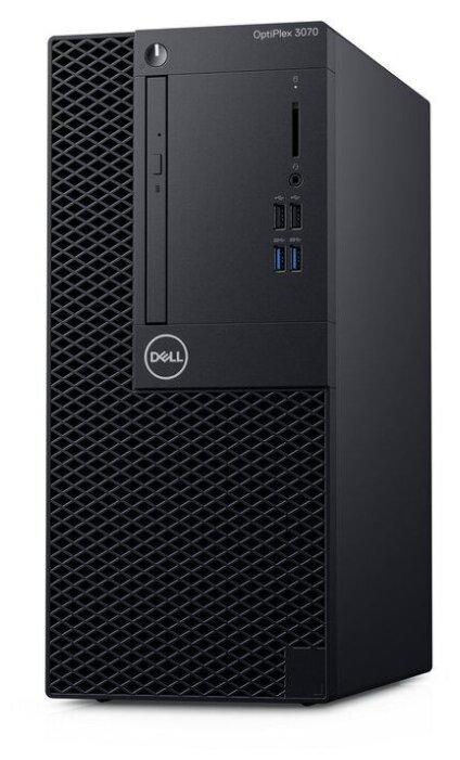 Настольный компьютер DELL Optiplex 3070 MT (3070-7681) Mini-Tower/Intel Core i3-9100/8 ГБ/256 ГБ SSD/Intel UHD Graphics 630/Ubuntu
