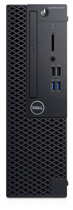 Настольный компьютер DELL OptiPlex 3070 SFF (3070-1908) Intel Core i3-9100/8 ГБ/256 ГБ SSD/Intel UHD Graphics 630/Linux