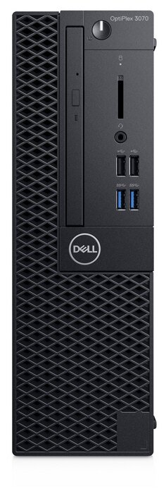 Настольный компьютер DELL Optiplex 3070 SFF (3070-6695) Intel Core i5-9500/8 ГБ/16 ГБ SSD+1 ТБ HDD/Intel UHD Graphics 630/Windows 10 Pro