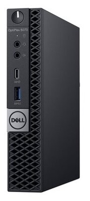Настольный компьютер DELL Optiplex 5070 Micro (5070-4845) Micro-Tower/Intel Core i7-9700T/8 ГБ/256 ГБ SSD/Intel UHD Graphics 630/Windows 10 Pro
