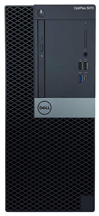 Настольный компьютер DELL OptiPlex 5070 MT (5070-4784) Mini-Tower/Intel Core i7-9700/8 ГБ/256 ГБ SSD/Intel UHD Graphics 630/Windows 10 Pro