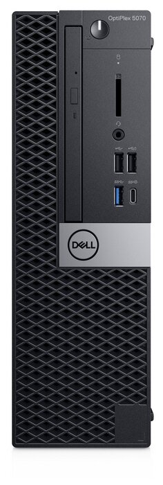 Настольный компьютер DELL Optiplex 5070 SFF (5070-4807) Intel Core i5-9500/8 ГБ/256 ГБ SSD/Intel UHD Graphics 630/Windows 10 Pro