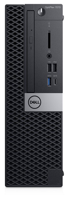Настольный компьютер DELL Optiplex 7070 SFF (7070-6787) Intel Core i7-9700/16 ГБ/512 ГБ SSD/AMD Radeon RX 550/Windows 10 Pro