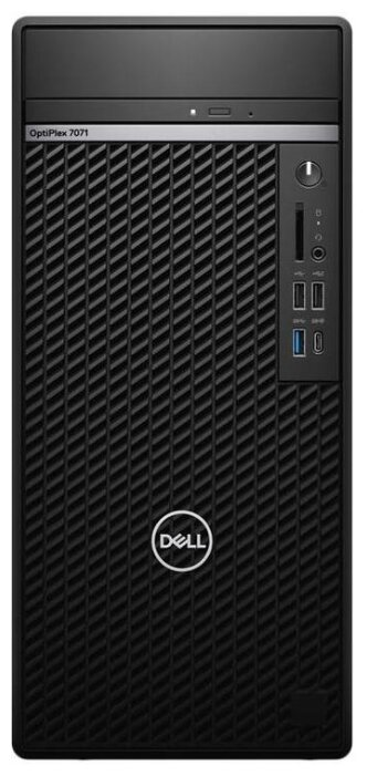 Настольный компьютер DELL Optiplex 7071 (7071-2080) Mini-Tower/Intel Core i7-9700/16 ГБ/256 ГБ SSD+1 ТБ HDD/NVIDIA GeForce GTX 1660/Windows 10 Pro