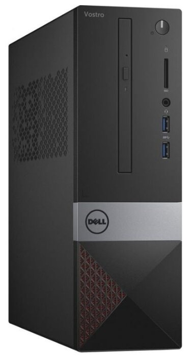 Настольный компьютер DELL Vostro 3471 (3471-2332) Slim-Desktop/Intel Core i3-9100/4 ГБ/1 ТБ HDD/Intel UHD Graphics 630/Windows 10 Pro