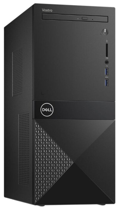 Настольный компьютер DELL Vostro 3671 MT (3671-2202) Mini-Tower/Intel Pentium Gold G5420/4 ГБ/1 ТБ HDD/Intel UHD Graphics 610/Ubuntu