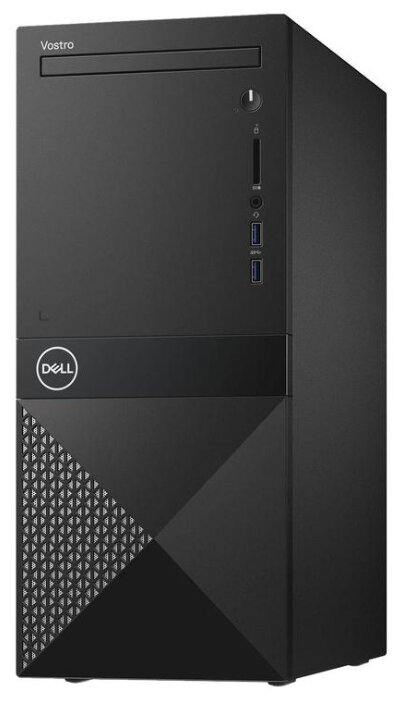 Настольный компьютер DELL Vostro 3671 MT (3671-2660) Midi-Tower/Intel Core i5-9400/8 ГБ/1 ТБ HDD/NVIDIA GeForce GT 730/Windows 10 Pro