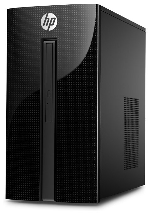 Настольный компьютер HP 460-p213ur (4XE52EA) Micro-Tower/Intel Core i3-7100T/4 ГБ/1 ТБ HDD/DOS