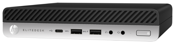 Настольный компьютер HP EliteDesk 800 G5 (2B438ES) Tiny-Desktop/Intel Core i5-9500/8 ГБ/256 ГБ SSD+1 ТБ HDD/Intel HD Graphics 630/DOS