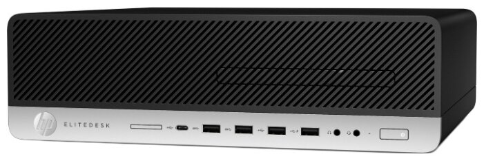 Настольный компьютер HP EliteDesk 800 G5 SFF (7QN12EA) Slim-Desktop/Intel Core i5-9500/8 ГБ/16 ГБ SSD+1 ТБ HDD/Intel UHD Graphics 630/Windows 10 Pro
