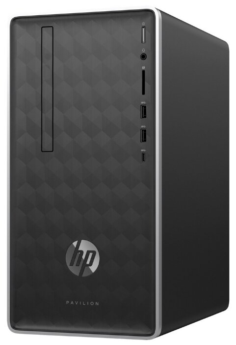 Настольный компьютер HP Pavilion 590-a0003ur (4GL68EA) Mini-Tower/Intel Pentium Silver J5005/8 ГБ/1 ТБ HDD/Intel UHD Graphics 605/Windows 10 Home