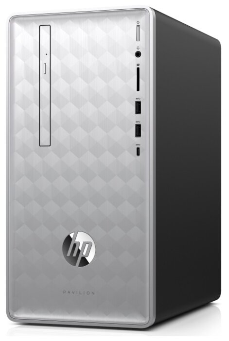 Настольный компьютер HP Pavilion 590-p0007ur (4GM35EA) Mini-Tower/Intel Core i3-8100/8 ГБ/1 ТБ HDD/NVIDIA GeForce GTX 1050 Ti/Windows 10 Home