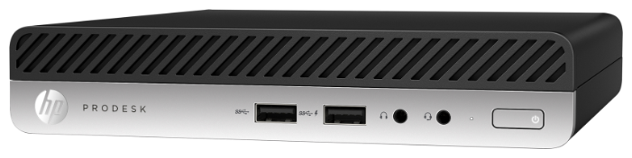 Настольный компьютер HP ProDesk 400 G5 DM (7EM45EA) Tiny-Desktop/Intel Core i5-9500T/8 ГБ/256 ГБ SSD/Intel UHD Graphics 630/Windows 10 Pro