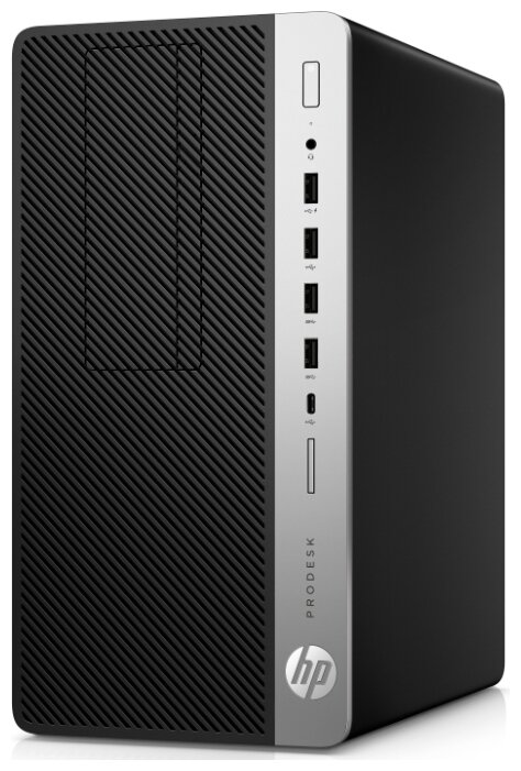 Настольный компьютер HP ProDesk 600 G5 (2B434ES) Micro-Tower/Intel Core i3-9100/8 ГБ/1 ТБ HDD/Intel UHD Graphics 630/DOS