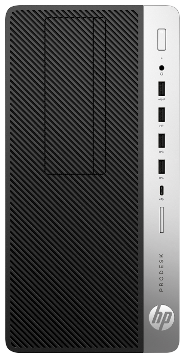 Настольный компьютер HP ProDesk 600 G5 MT (7AC14EA) Micro-Tower/Intel Core i5-9500/8 ГБ/256 ГБ SSD/Intel UHD Graphics 630/Windows 10 Pro