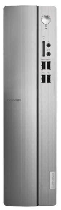 Настольный компьютер Lenovo IdeaCentre 510S-07ICB (90K8001VRS) Mini-Tower/Intel Celeron G4900/4 ГБ/128 ГБ SSD/Intel UHD Graphics 610/DOS