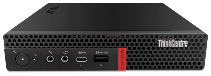 Настольный компьютер Lenovo ThinkCentre M720q Tiny (10T7009KRU) Tiny-Desktop/Intel Core i5-9400T/8 ГБ/256 ГБ SSD/Intel UHD Graphics 630/DOS