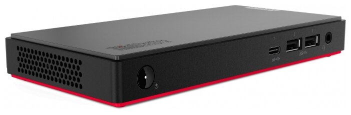 Настольный компьютер Lenovo ThinkCentre M90n-1 (11AD001RRU) Tiny-Desktop/Intel Core i5-8265U/8 ГБ/256 ГБ SSD/Intel UHD Graphics 620/DOS