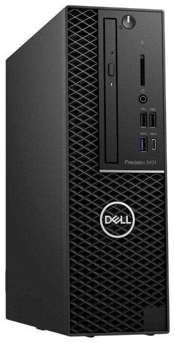 Рабочая станция DELL Precision 3431 (3431-6947) Slim-Desktop/Intel Core i7-9700/8 ГБ/256 ГБ SSD/NVIDIA Quadro P1000/Windows 10 Pro