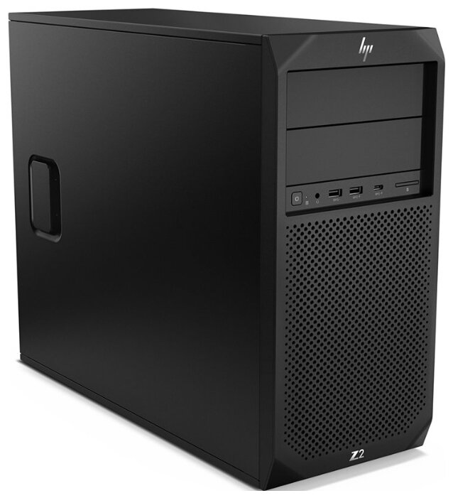 Рабочая станция HP Z2 G4 Tower (6TX00EA) Mini-Tower/Intel Xeon E-2236/16 ГБ/256 ГБ SSD/NVIDIA Quadro P2200/Windows 10 Pro