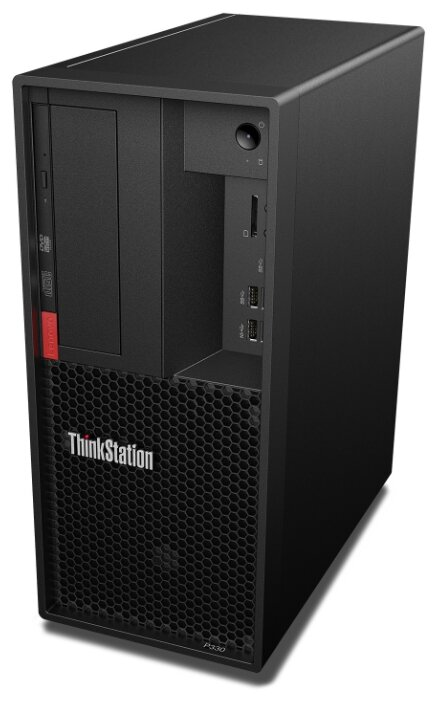 Рабочая станция Lenovo ThinkStation P330 Gen2 (30CY000RRU) Mini-Tower/Intel Core i7-9700K/16 ГБ/512 ГБ SSD/Intel UHD Graphics 630/Windows 10 Pro