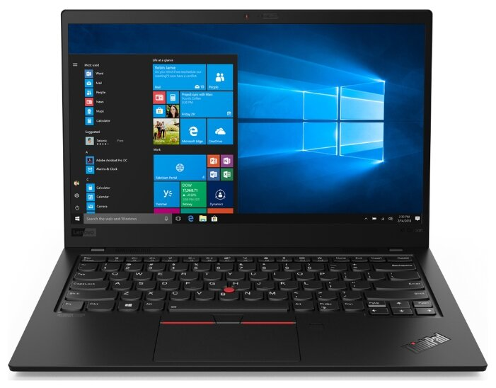 Ноутбук Lenovo THINKPAD X1 Carbon Ultrabook (7th Gen)