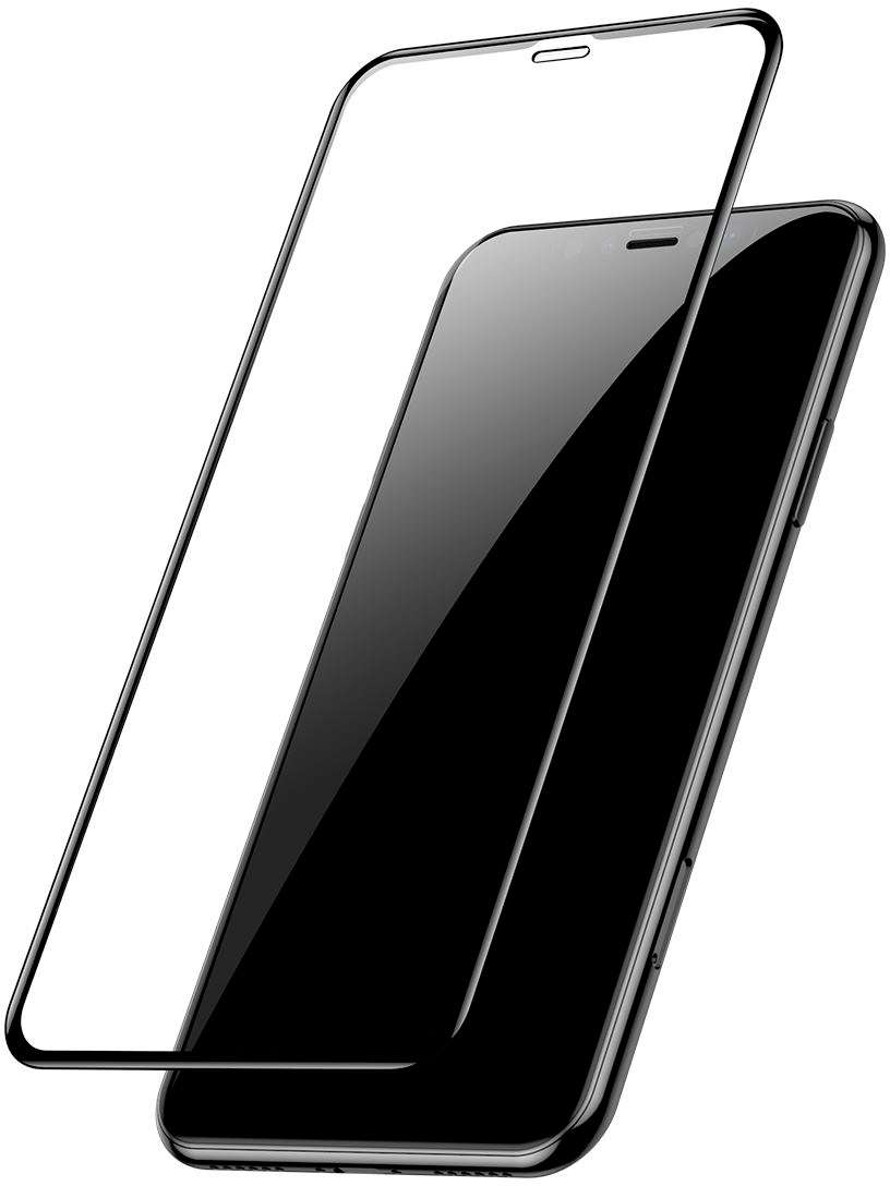 Защитное стекло Baseus Full-glass Tempered для iPhone 11 Pro Black