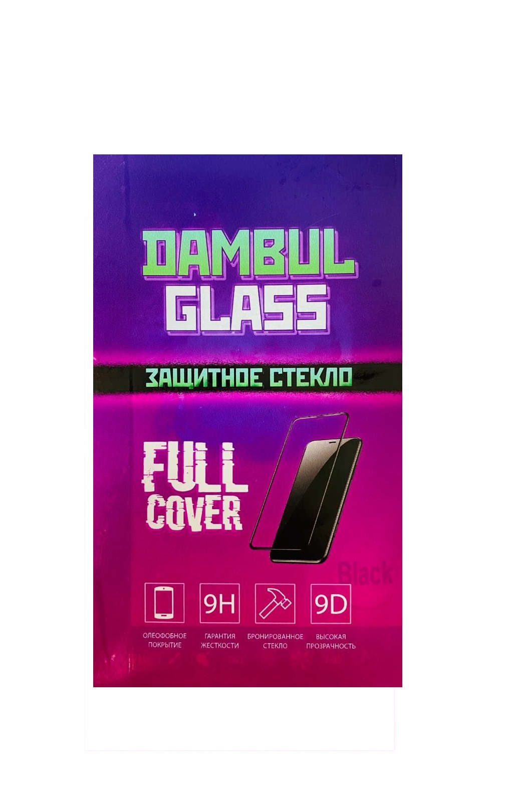Защитное стекло Dambul Glass 9D Huawei P Smart
