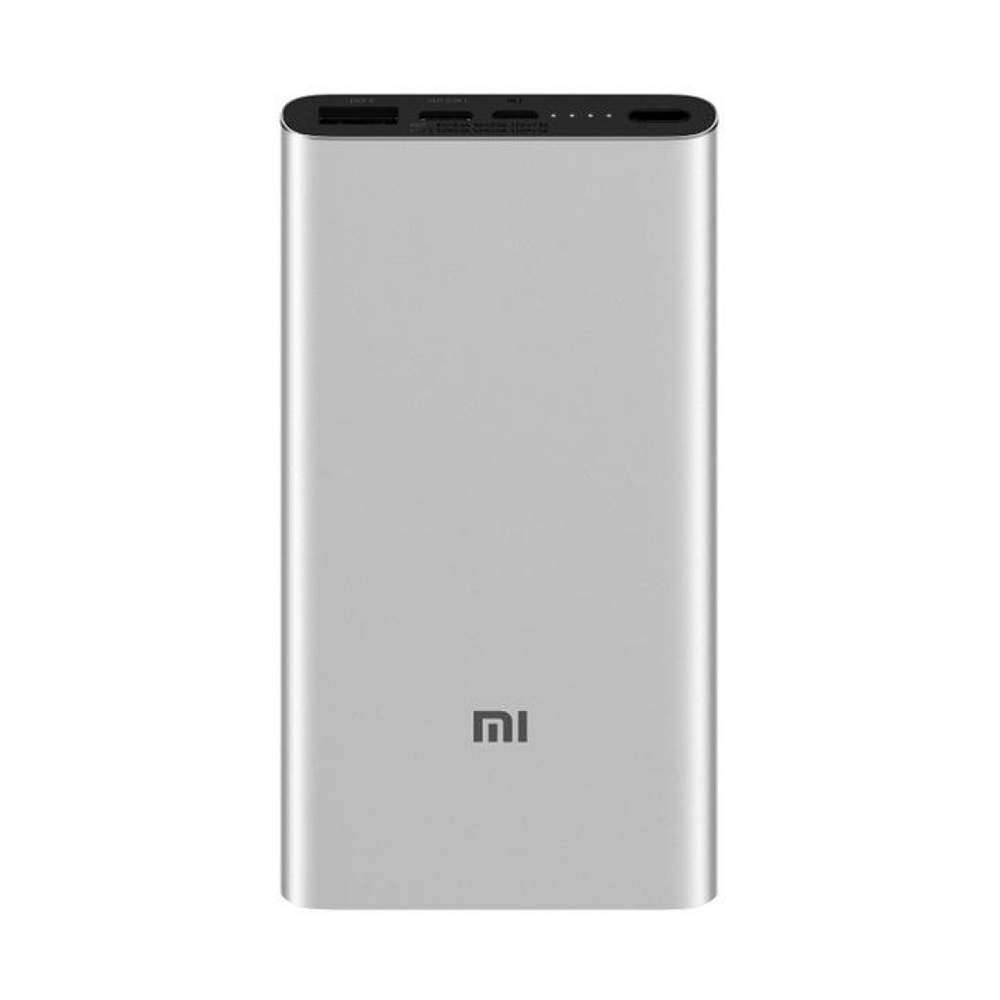 Внешний аккумулятор Xiaomi Mi Power Bank 3 PLM12ZM 10000 mAh Silver