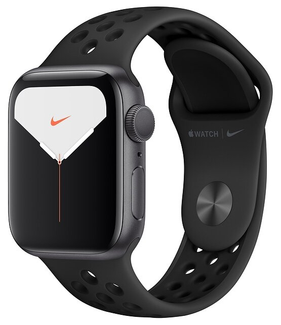 Часы Apple Watch Series 5 GPS 40mm Aluminum Case with Nike Sport Band