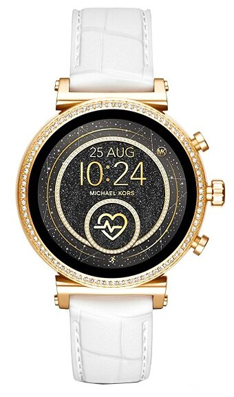 Часы MICHAEL KORS Access Sofie Embossed Silicone