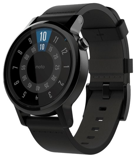 Часы Motorola Moto 360 v2 men's 42mm (leather)