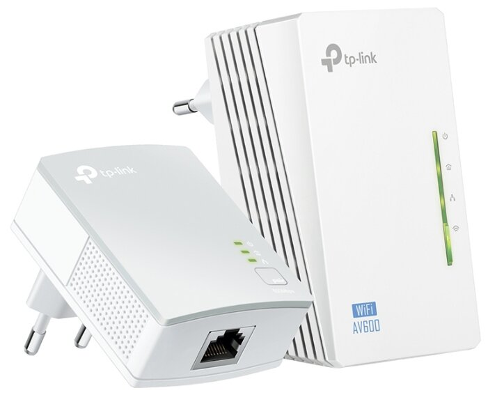 Wi-Fi+Powerline адаптер TP-LINK TL-WPA4220KIT V4
