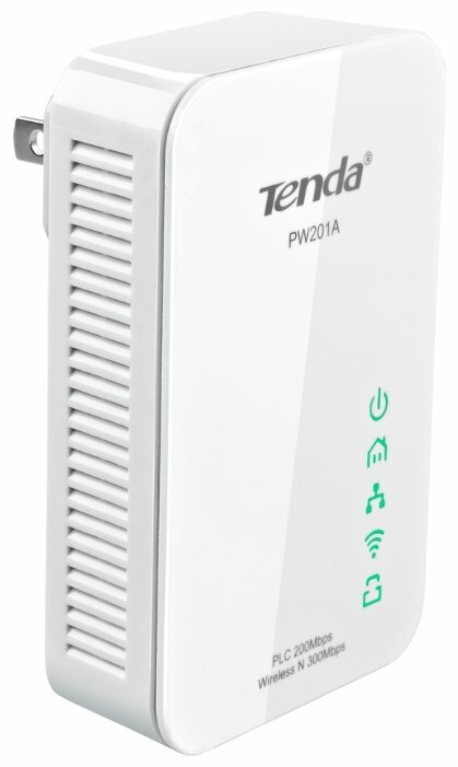 Wi-Fi+Powerline роутер Tenda PW201A